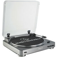 Audio-technica At-lp60 Fully Automatic Belt Driven Turntable