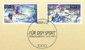 Berlin-1990-Sportmarken-Nr-864-865-mit-sauberem-Ersttagsstempel-1A-1603