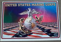 US Marine Corps EGA / Eagle, Globe, And Anchor Decal / Sticker