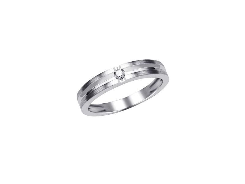 Gioielli autentici Anello Anello Anello Diamanti 0 04 ct. Rhiannarhianna oro bianco Brillanti c1b70e