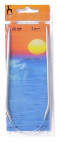 Pony CIRCOLARI LAVORO A MAGLIA ago pin 60cm x 4mm