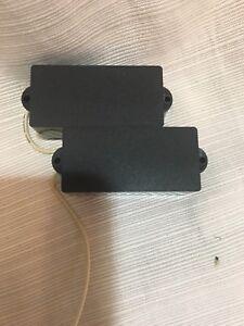 New Old Stock Split Coil Pick Up For Fender Four String Precision Bass Guitar 4 Ebay