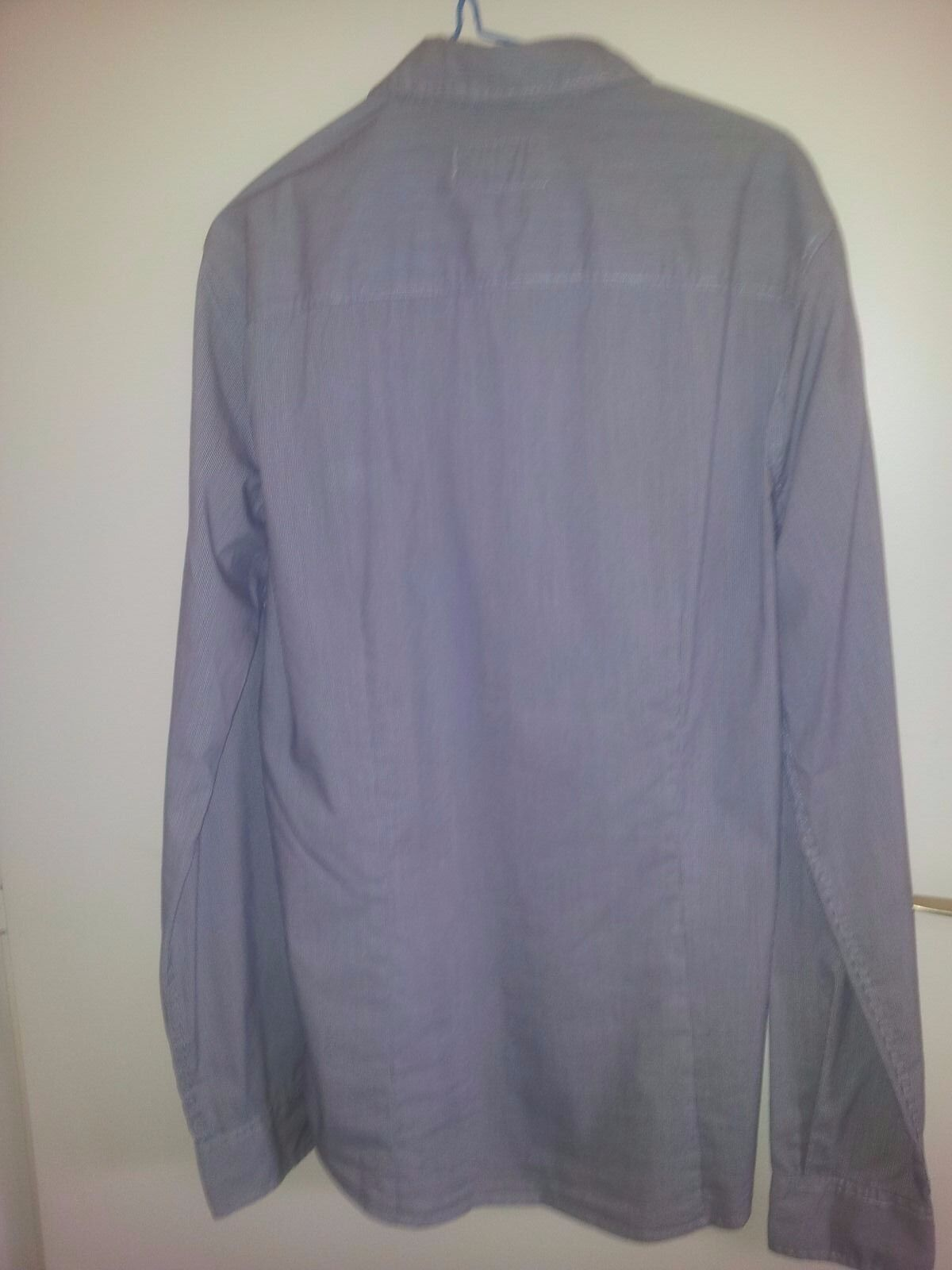 Chemise Guess Homme Guess Chemise Fines Rayures Taille S Comme
