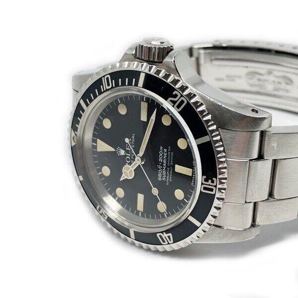 Rolex Submariner, ref. 5512, år: 1978