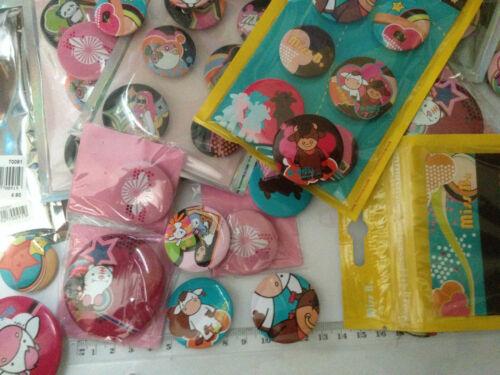 633 x Pins Blinki LED Anstecker Blinky Karneval Button Wurfmaterial Rest Elsa