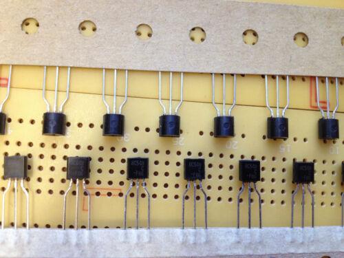 100mA 30V NPN Bipolar Transistor BC548CTA TO-92 500mW 300MHz Multi Qty
