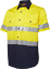 HI-VIS-SHIRT-SAFETY-COTTON-DRILL-WORK-WEAR-SHORT-SLEEVE-Air-Vents-UPF-50 thumbnail 15