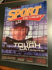 Detroit Sport Magazine Dean Palmer Tigers Signed Autograph