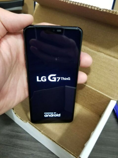 LG G7 ThinQ - 64GB - Silver (Unlocked 100%), screen 6.1, Bell, Telus, Chatr...