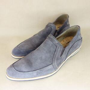 100% Vrai Fly London Chaussures Hommes T 46 Chaussures Basses Pantoufles Cuir Daim Np 149 Neuf-afficher Le Titre D'origine Belle Et Charmante