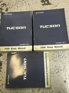 2006 Hyundai Tucson Service Repair Shop Manual SET FACTORY ...