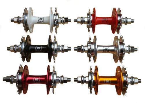 Fixed Gear Track Hub A166SBT NOVATEC Rear Fixed 16T//Fixed 17T Flip Flop Fixie