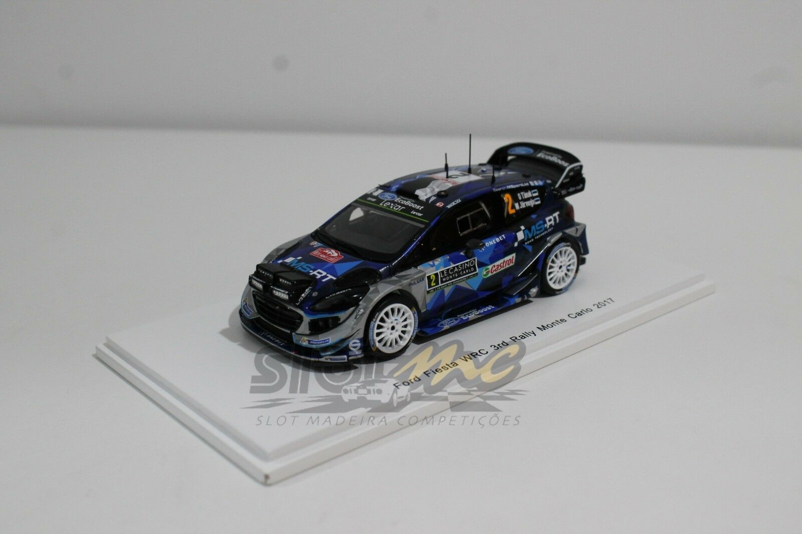 Spark S5161 Ford Fiesta WRC 3rd Rally Monte Carlo 2017 1 43  NEW