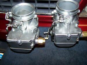 Vintage Ford Carburetor,Rat Rod,Flathead,Pair of Stromberg 48