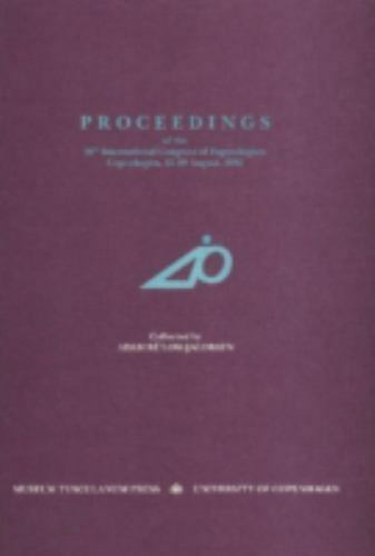Proceedings 20th Nationl, Hardcover by Bullow-Jacobsen, Adam (EDT), Brand New...