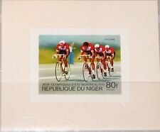 NIGER 1976 534 366 SHEET Summer Olympics Montreal Radrennen Bicycle Cycling MNH