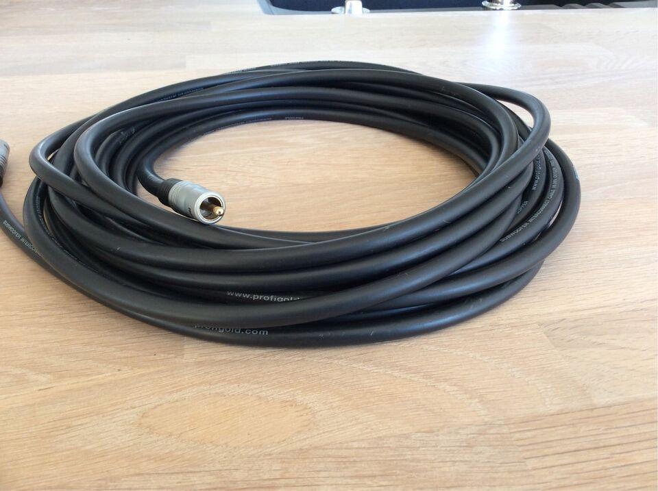 Højttaler, Profigold, Subwoofer interconect cable