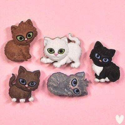 Cats Cat kitten DRESS IT UP Buttons Alley Cat 3118