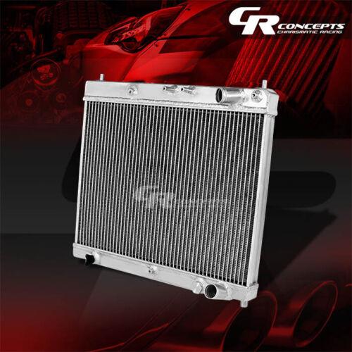 DUAL CORE FULL ALUMINUM RACING 2-ROW RADIATOR 04-07 SCION xB bB 1NZ//2NZ-FE I4 MT