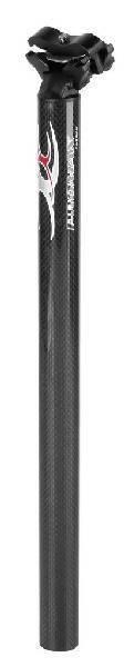 PROMAX reggisella carbonio 27,2 x 400mm 3k nero lucido lucido lucido 252078 bicicletta bike e503ee