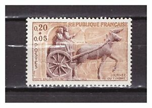 s24829-FRANCE-1963-MNH-Stamp-Day-1v-archaeology