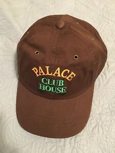 421d8027 Image is loading Palace-Skateboards-Clubhouse-6-Panel-Brown
