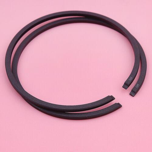 45mm x 1.5mm Piston Rings For Husqvarna 51 254 350 353 OLEO-MAC 753 Chainsaw