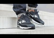 Mens Nike Air Max 90 Essential Shoes Size 9 Anthracite Granite Black 537384 035