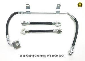Neuf Arrière Moyen Flexible de freins pour JEEP GRAND CHEROKEE II 1999-2004 WJ