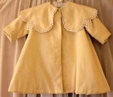 Antique Victorian Edwardian Hand-made Wool Child's Baby Coat