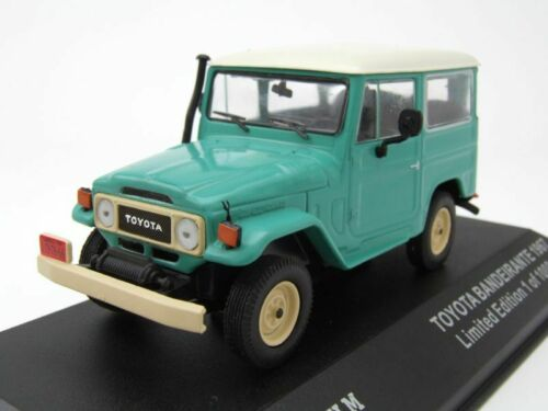 Modellauto 1:43 // Triple9 Toyota Bandeirante Land Cruiser FJ40 1967 grün//weiß