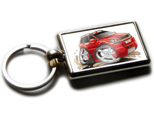 VOLVO XC90 4x4 Car Koolart Chrome Keyring Picture Both Sides