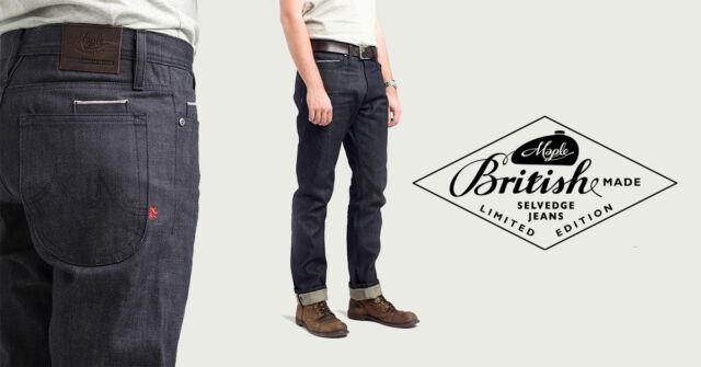 British Made Maple Motorcycle Jeans -Kevlar lined-Final batch-Retail £189 - £300