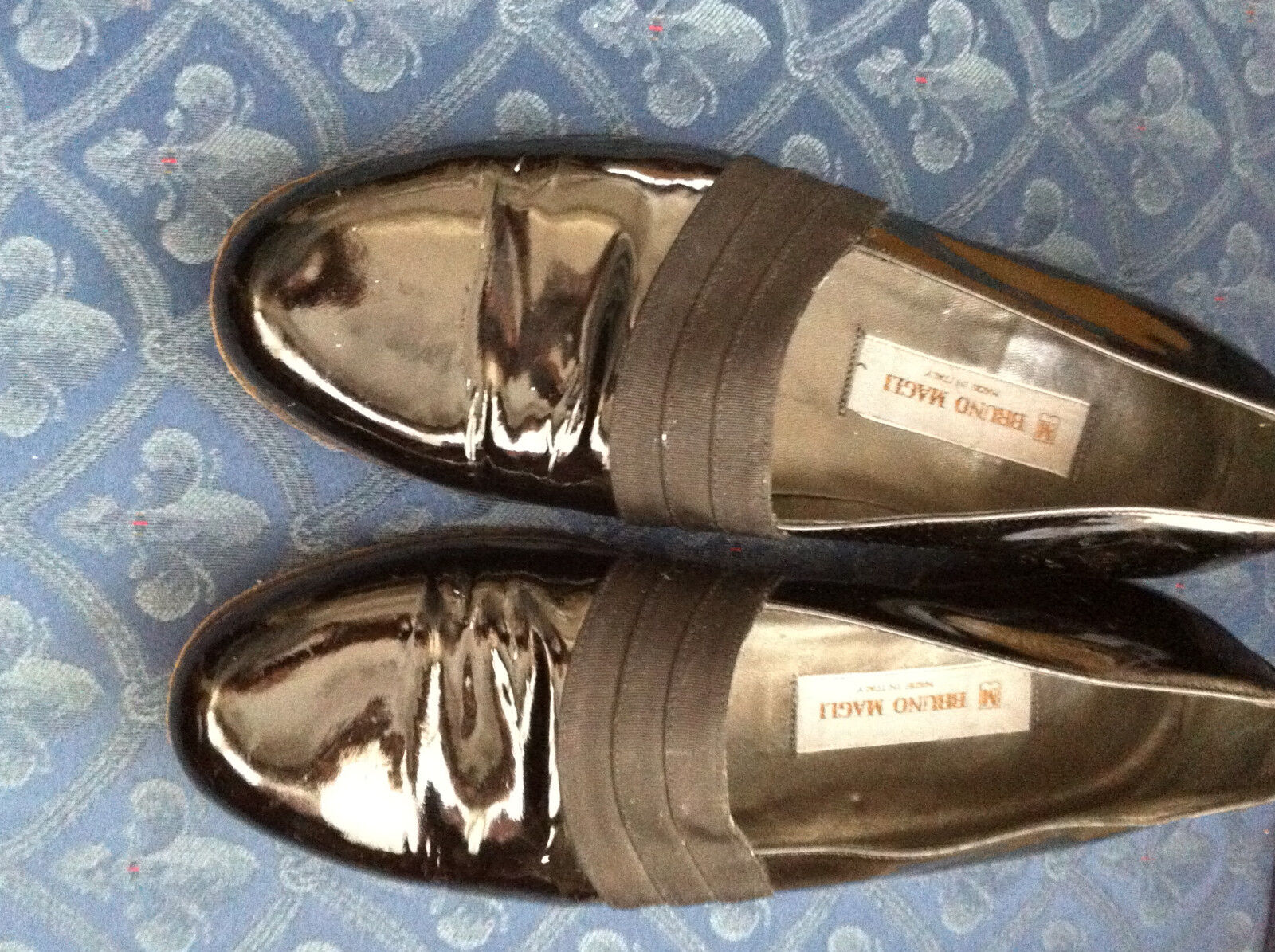 Bruno magli tuxedo made in italy men's shoes