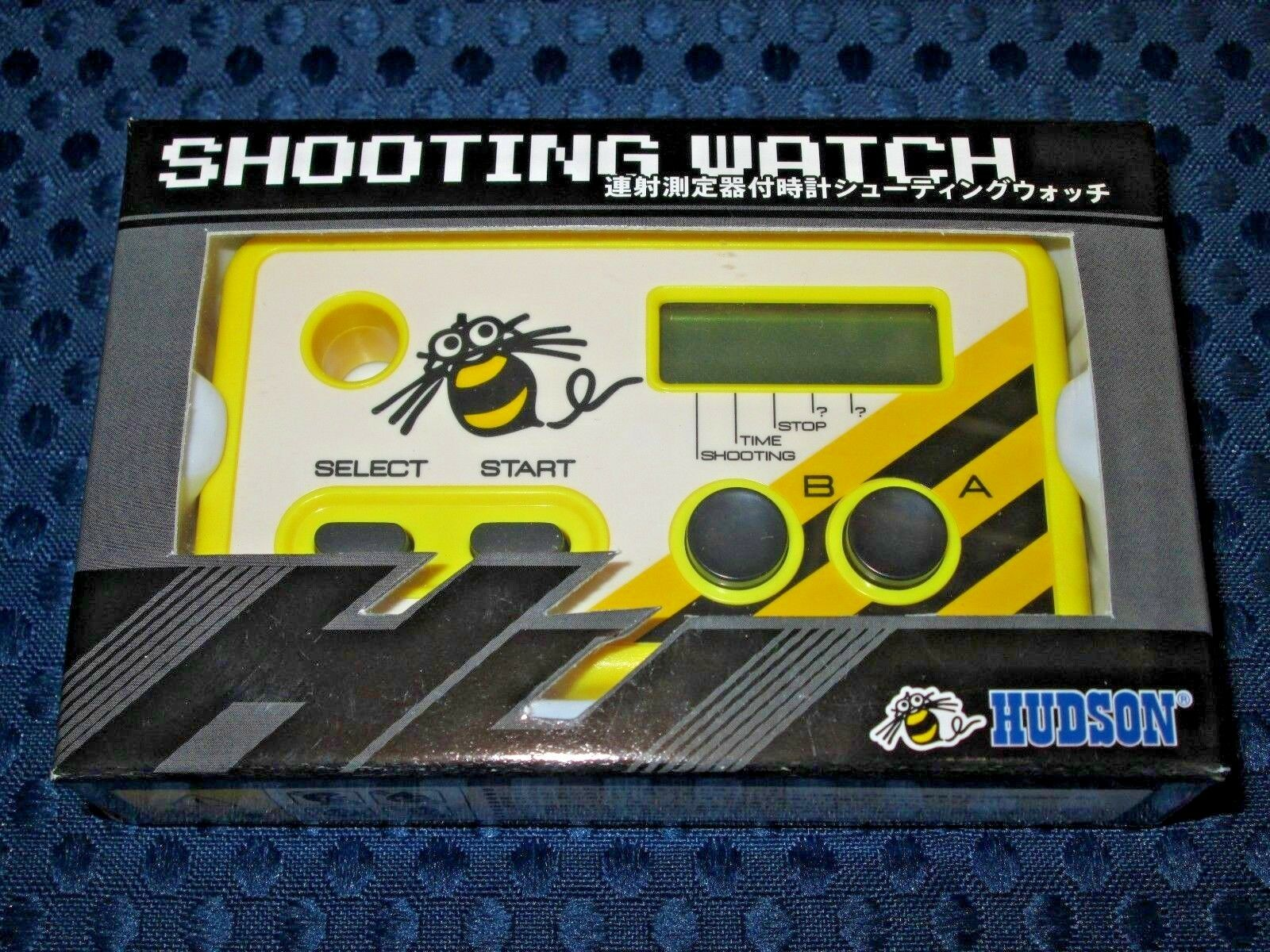 Hudson Shooting Watch Limited Revised ver G&W Game Rapid Fire counter JAPAN F S