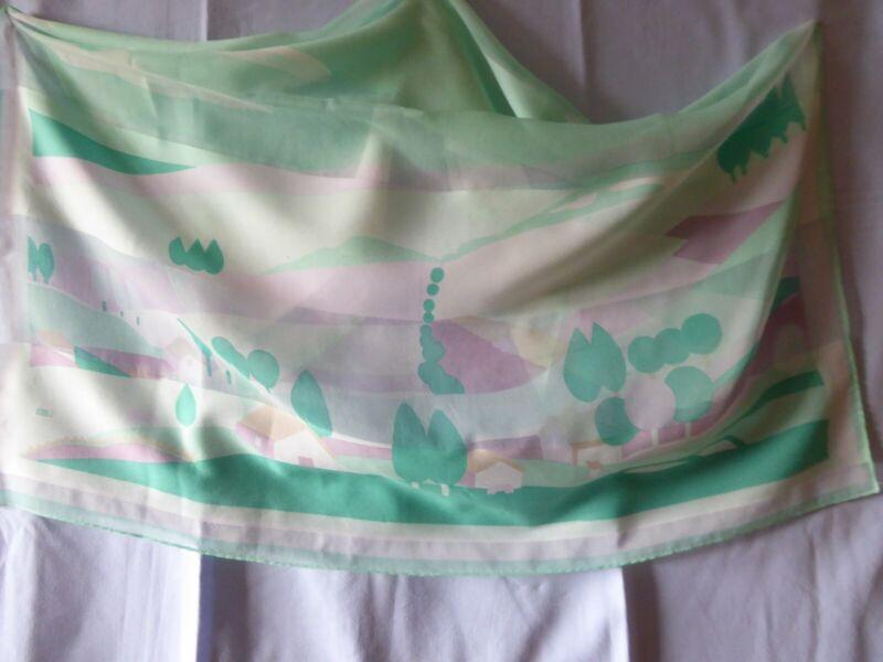 Aggressiv Lucia Damen Schultertuch/halstuch, 75 X 75 Cm 100 % Polyester Leicht Transparent