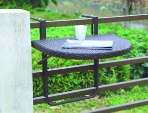 Klapptisch Rattan.Details Zu Garden Pleasure Balkon Tisch Klappbar Esstisch Klapptisch Rattan Optik Coffee