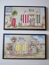 """Boys & Girls Beach Bathroom Wall Decor Plaques """"Buoys & Gulls"""" kids ocean bath"""