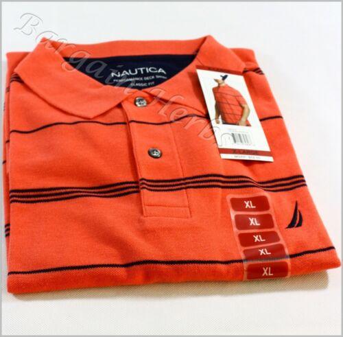 Nautica Men/'s Performance Deck Classic Polo Shirt Free Shipping NWT $59.50 MSRP