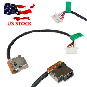 DC POWER JACK WITH CABLE FOR HP 14-AK 15-AC 15-AF 15-AY 15-BA 15-BN Series US