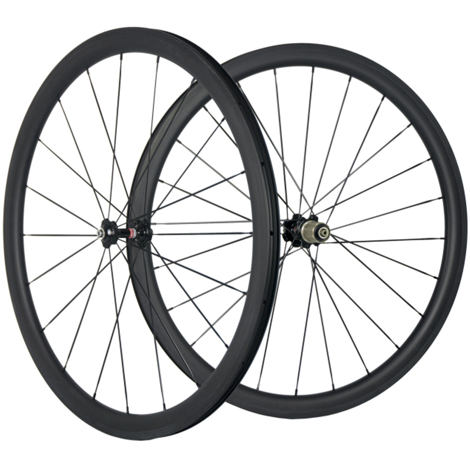 Carbon Road Wheels 38mm Tubeless Carbon Wheelset 25mm Width U Shape Bike Wheel