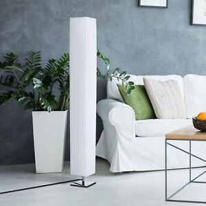 Homcom 4 Tall Floor Lamp Modern Fabric Light Living Room W