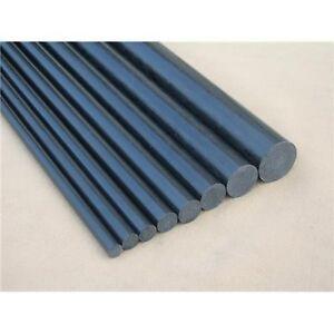 5pcs 4mm Diameter x 500mm Carbon Fiber Rods For RC Airplane High Quality Pole ♫