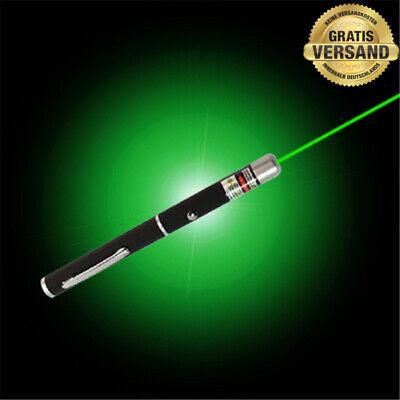Logisch Premium Laserpointer GrÜn 532nm 100 % Top Qualität- De-blitzversand!!