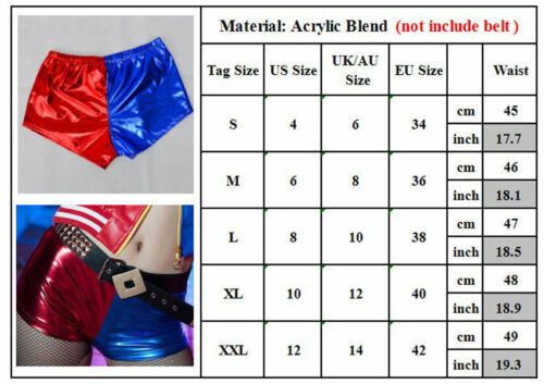 Adult Child Kid Cosplay Harley Quinn Costume Halloween Suicide Squad Fancy Suit