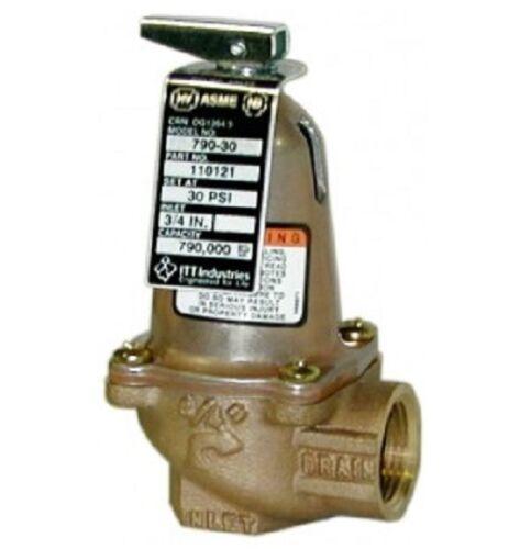 "Bell /& Gossett 110129 1170-30  safety relief valve 1/""x1/"""