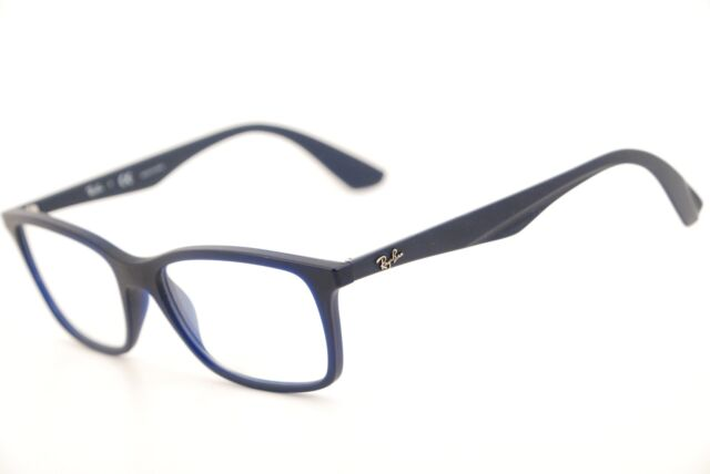 b58e267ed83 New Authentic Ray Ban RB 7047 5450 Matte Navy Blue 54mm Frames Eyeglasses RX