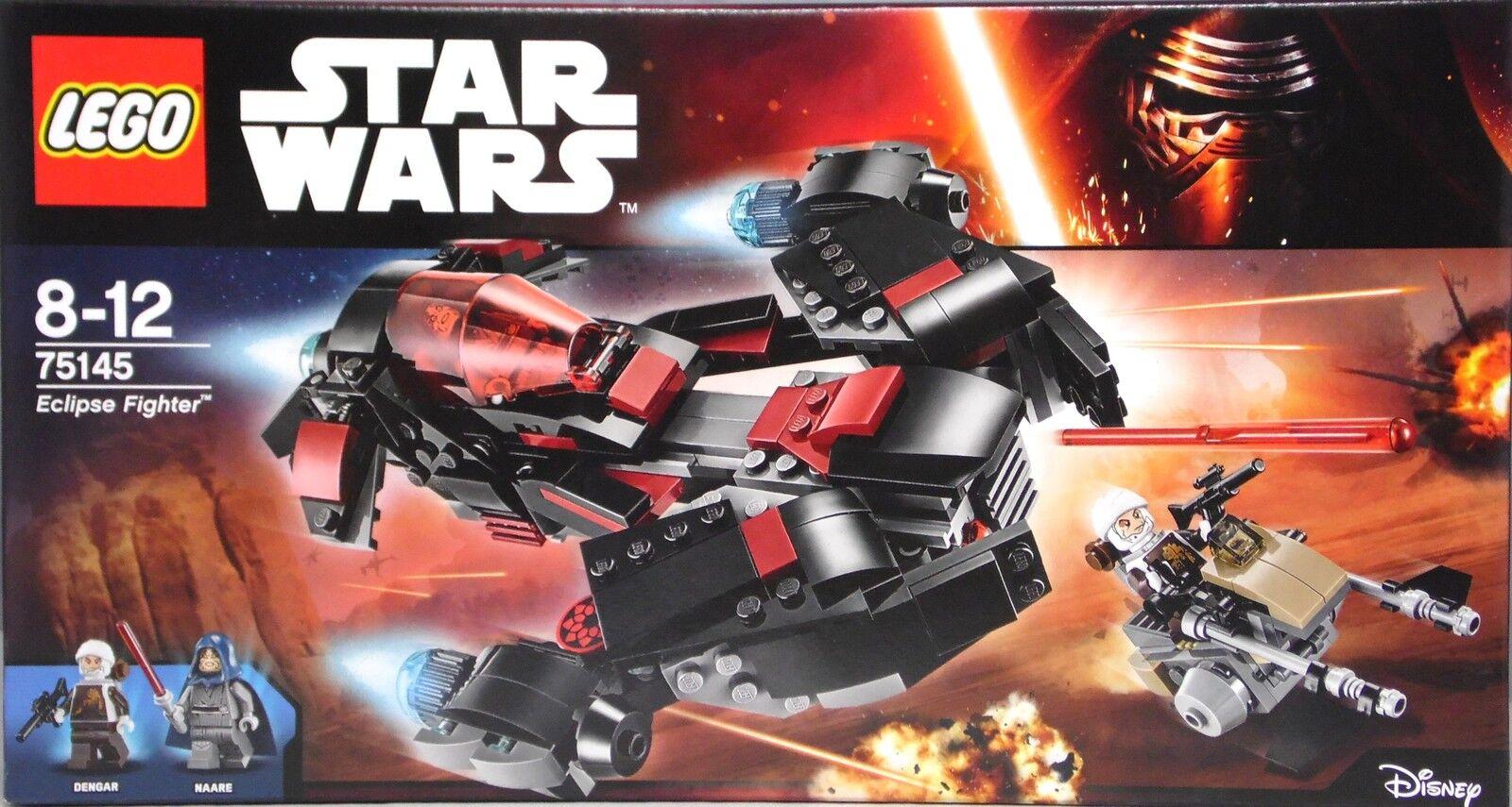 Lego Lego Lego Star Wars 75145 Eclipse Fighter mit Dengar und Naare  SEALED NEU df8939
