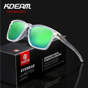 61d2b14fab2 KDEAM 6 Colors Men Sport Polarized Sunglasses Outdoor Driving Riding ...