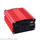 300W DC 12V to AC 110V Portable Car Power Inverter Charger Converter USB 300WATT
